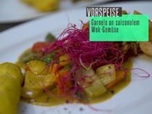 Gruß aus dem Wok-Brenner: Garnelen an saisonalem Gemüse - Rezept - Bild Nr. 2
