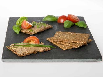 Kräuter-Kräcker mit Algenpastete - Rezept - Bild Nr. 6760