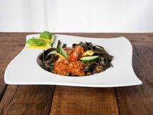 Leckere Low-Carb-Nudeln: Meeresspaghetti mit Tomatensoße - Rezept - Bild Nr. 6760