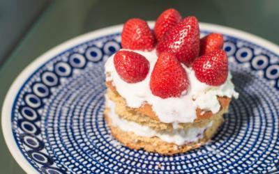 Quarktorte mit Erdbeeren, Sahne und Agar Agar - Rezept - Bild Nr. 6760
