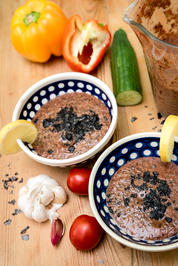 Rezept: Sommer-Gazpacho mit Nori-Algen