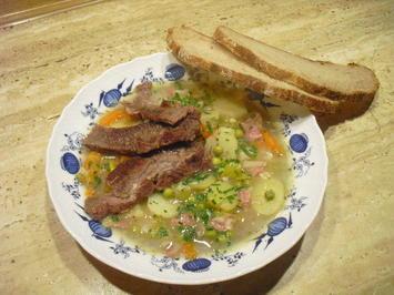 Kartoffel-Gemüse-Suppe mit Hoher Rippe - Rezept - Bild Nr. 6760