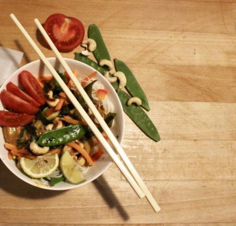 Thai Curry-Nudeln mit Wakame-Algen von Algamar - Rezept - Bild Nr. 6760