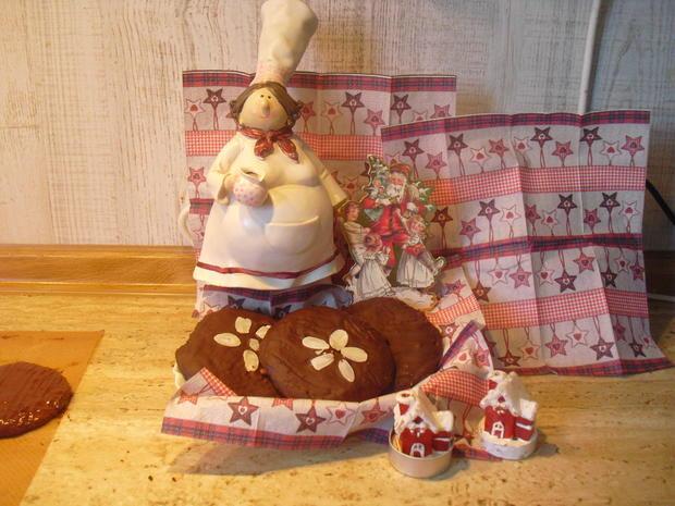 Uschi´s Lebkuchen mit Schoko-Glasur - Rezept - Bild Nr. 6793