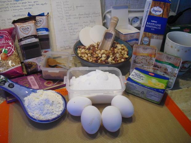 Uschi´s Lebkuchen mit Schoko-Glasur - Rezept - Bild Nr. 6794