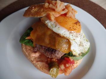 Spiegelei-Burger - Rezept - Bild Nr. 6773