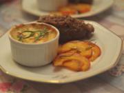 Rindsrouladen mit gratinierten Kartoffeln und Kürbis aus dem Ofen - Rezept - Bild Nr. 6761