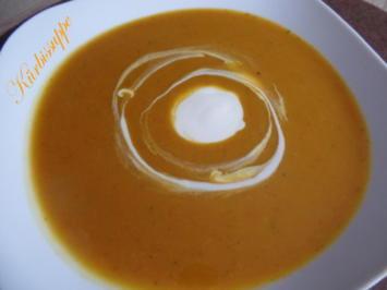 Rezept: Kürbissuppe mit Meerrettich