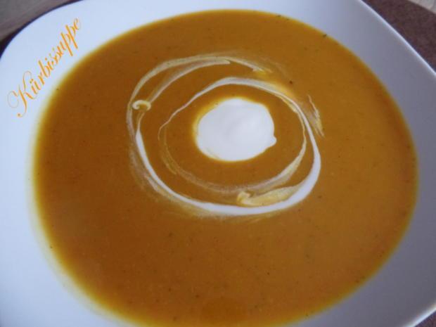 Kürbissuppe mit Meerrettich - Rezept - Bild Nr. 6762