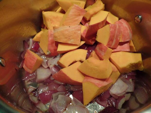 Kürbissuppe mit Meerrettich - Rezept - Bild Nr. 6764