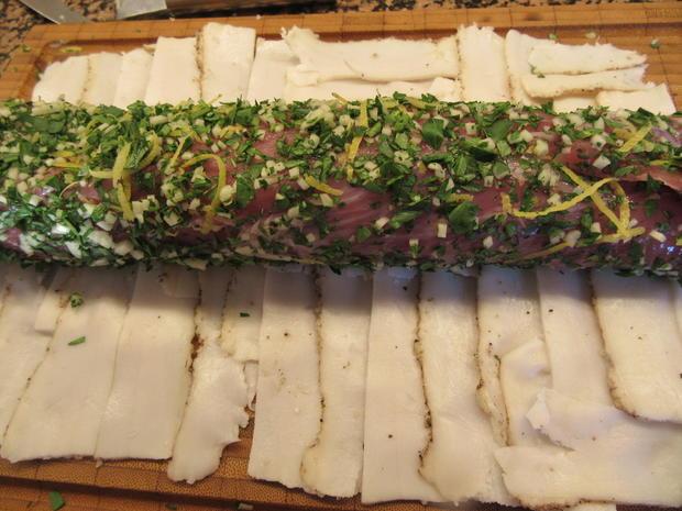 Fleisch: Lombo a´la Gremolata - Rezept - Bild Nr. 6776
