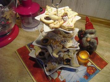 Weihnacht s Plätzchen Butterplätzchen - Rezept - Bild Nr. 6776
