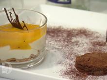 Mango–Maracuja-Traum, ein Schoko–Eiskonfekt sowie ein Schokotörtchen - Rezept - Bild Nr. 2