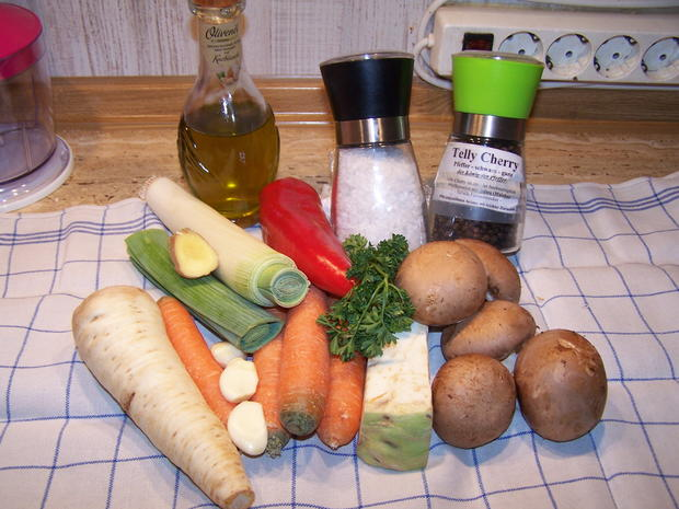 Gemüse Paste Nr. 2 Mit etwas anderen Zutaten - Rezept - Bild Nr. 6787