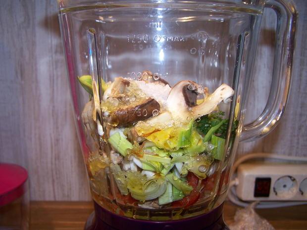 Gemüse Paste Nr. 2 Mit etwas anderen Zutaten - Rezept - Bild Nr. 6789