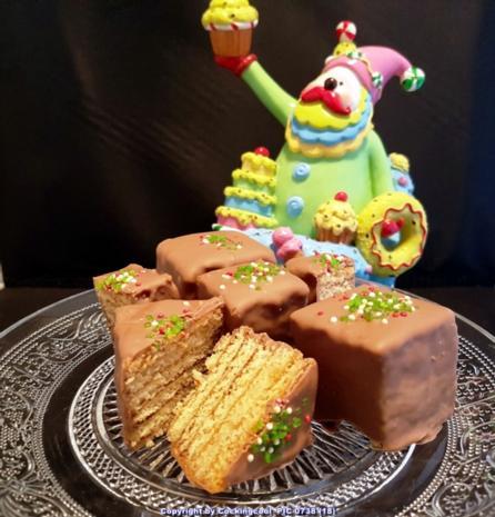 Baumkuchen in kleinen Blöcken - Rezept - Bild Nr. 6806