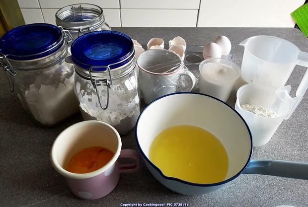 Baumkuchen in kleinen Blöcken - Rezept - Bild Nr. 6810
