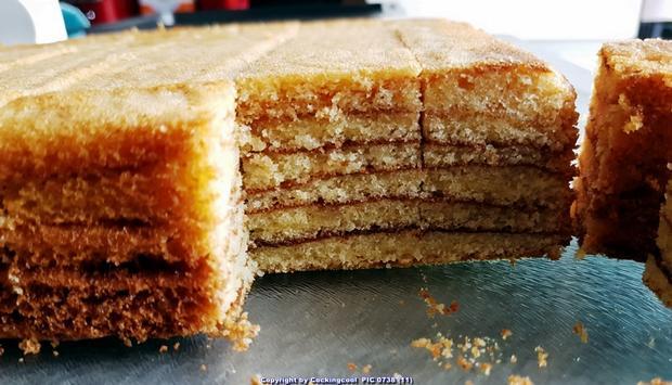 Baumkuchen in kleinen Blöcken - Rezept - Bild Nr. 6814