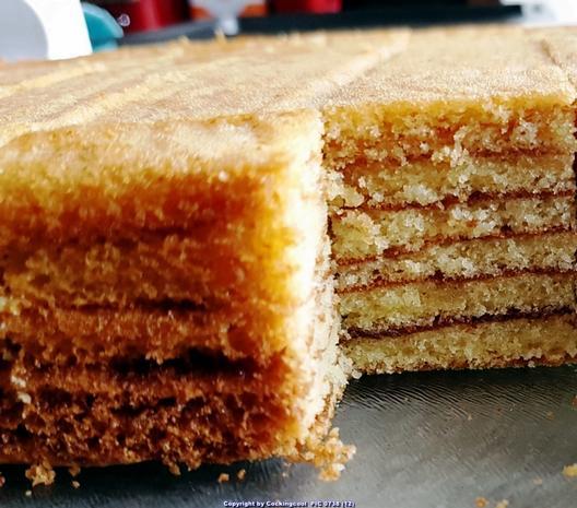Baumkuchen in kleinen Blöcken - Rezept - Bild Nr. 6815