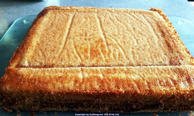 Baumkuchen in kleinen Blöcken - Rezept - Bild Nr. 6816