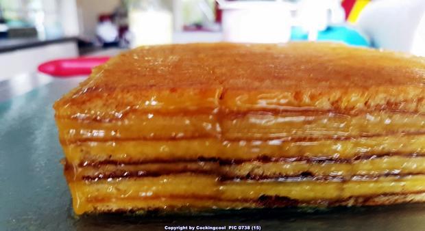 Baumkuchen in kleinen Blöcken - Rezept - Bild Nr. 6818