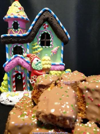 Baumkuchen in kleinen Blöcken - Rezept - Bild Nr. 6821