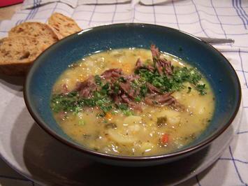 Schnitz eine Gemüse Suppe aus der Region - Rezept - Bild Nr. 6806