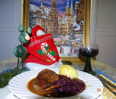 Prachaticer Kaninchenbraten zu Weihnachten - Rezept - Bild Nr. 6811