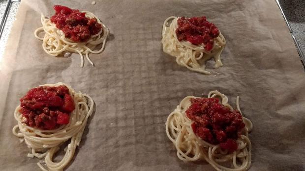 Spaghetti - Nester - Rezept - Bild Nr. 6821