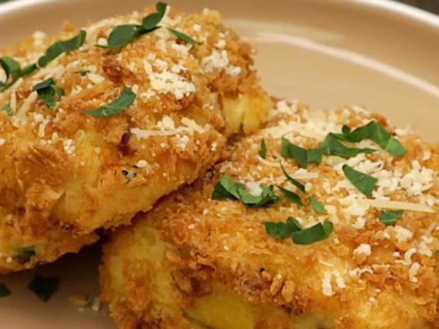 Kartoffel-Käse-Schinken-Schnitten - Rezept - Bild Nr. 2