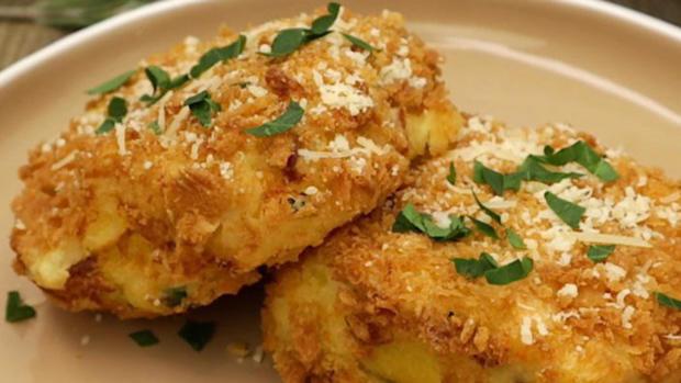 Kartoffel-Käse-Schinken-Schnitten - Rezept - Bild Nr. 3