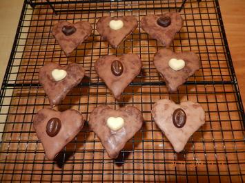 Rezept: Schokoladenherzen von Oma Agnes