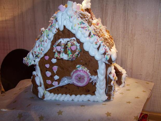 Lebkuchen Haus - Rezept - Bild Nr. 6818
