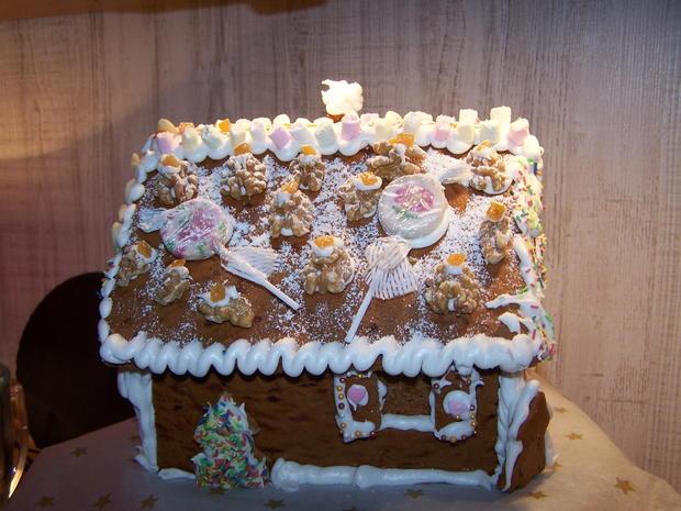 Lebkuchen Haus - Rezept - Bild Nr. 6819