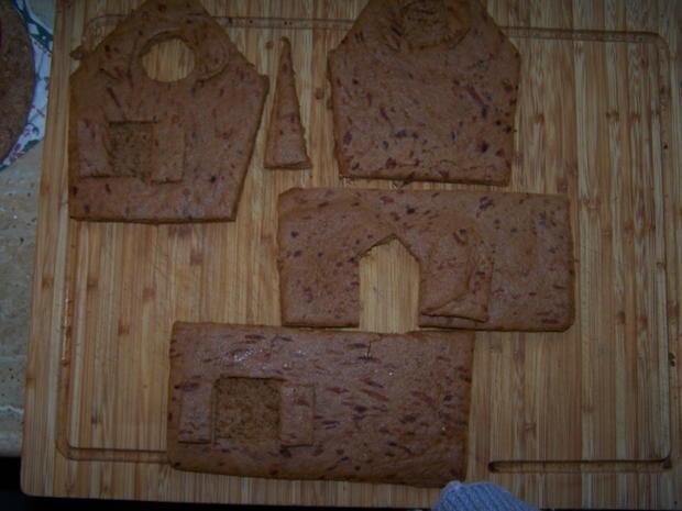 Lebkuchen Haus - Rezept - Bild Nr. 6836