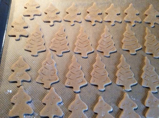 Lebkuchenbäume - Rezept - Bild Nr. 6828