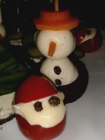 Weihnachtliche Häppchen - Rezept - Bild Nr. 6833