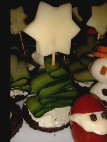 Weihnachtliche Häppchen - Rezept - Bild Nr. 6834