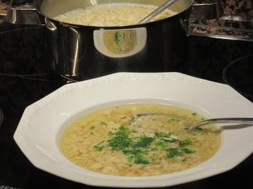 Rezept: Suppen: Stracciatella