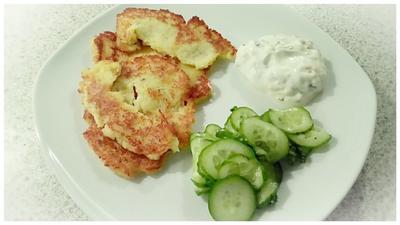 Rezept: Kartoffel - Sauerkraut - Puffer