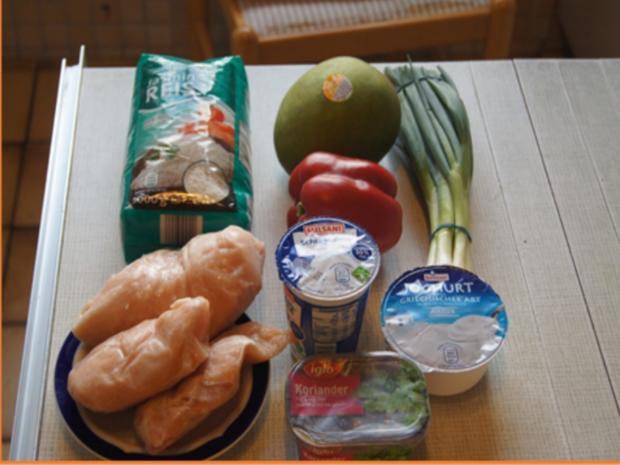 Indisches Hähnchenbrustfilet-Curry im Wok mit Jasmin-Reis - Rezept - Bild Nr. 6873