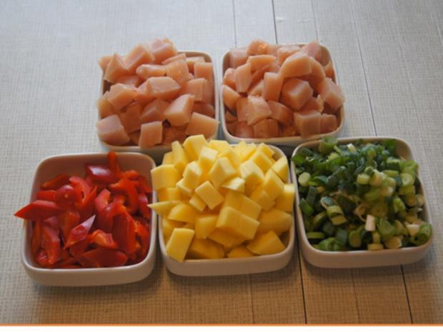 Indisches Hähnchenbrustfilet-Curry im Wok mit Jasmin-Reis - Rezept - Bild Nr. 6882