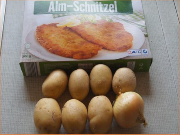 Alm-Schnitzel mit herzhaften Bratkartoffeln - Rezept - Bild Nr. 3