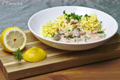 Lachsragout mit Pasta - Rezept - Bild Nr. 6894