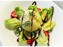 Speckknödel mit kleinem Salat - Rezept - Bild Nr. 6894