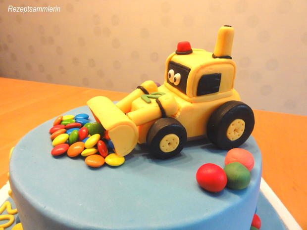 Biskuit:   HAPPY BIRTHADY TORTE - Rezept - Bild Nr. 6901