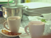 Cappuccino vom Steinpilz mit Schinkenchips - Rezept - Bild Nr. 2