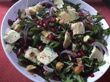 Granatapfel-Rucola-Salat - Rezept - Bild Nr. 6898