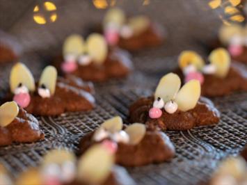 Rezept: Süße Weihnachtsmäuse