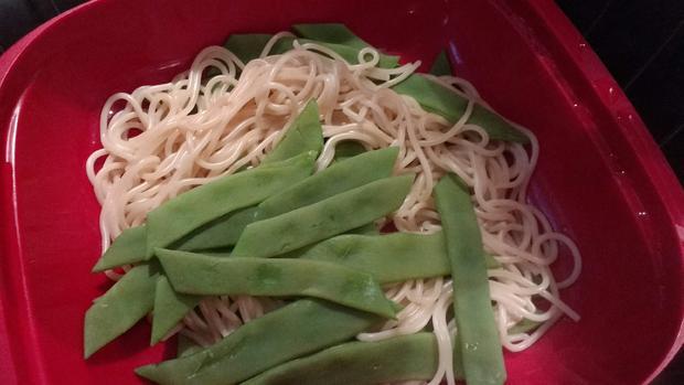 Bohnen - Spaghetti - Carbonara - Rezept - Bild Nr. 6902